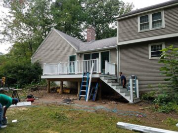 contractor for deck manchester