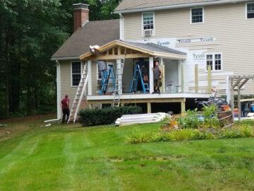 front porch builder manchester