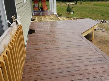 wood deck builder manchester
